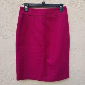 F21 Hot Pink Pencil Skirt